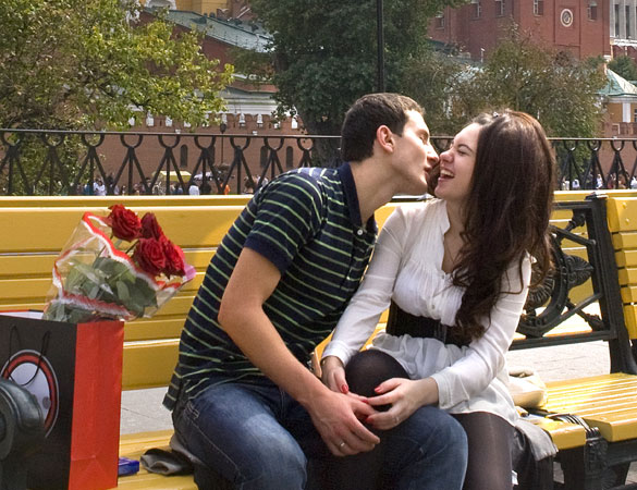 Dating site kiss